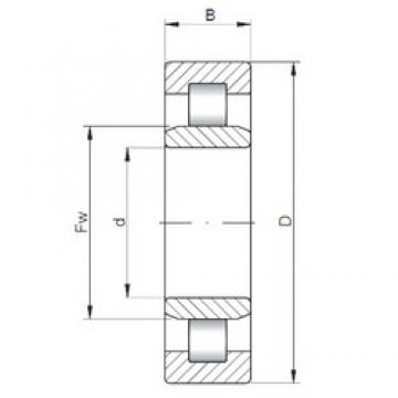 200 mm x 420 mm x 138 mm  ISO NU2340 cylindrical roller bearings